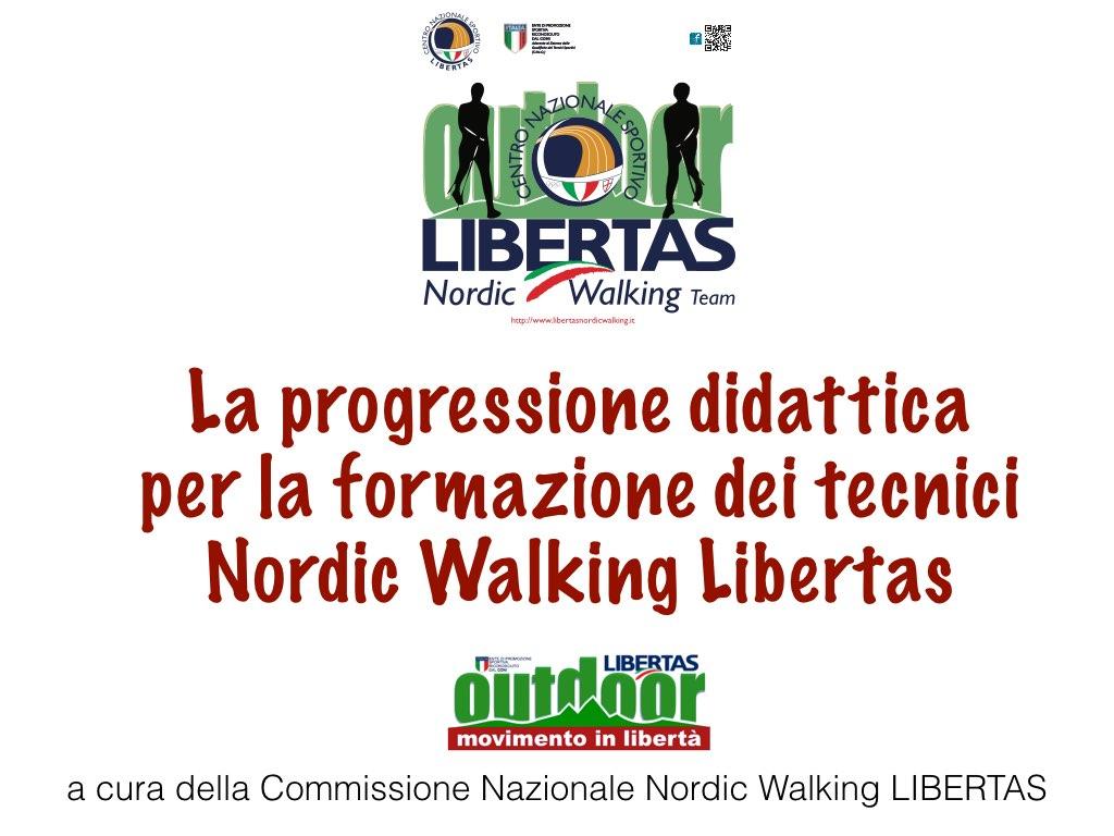 Progressione Didattica Libertas Nordic Walking